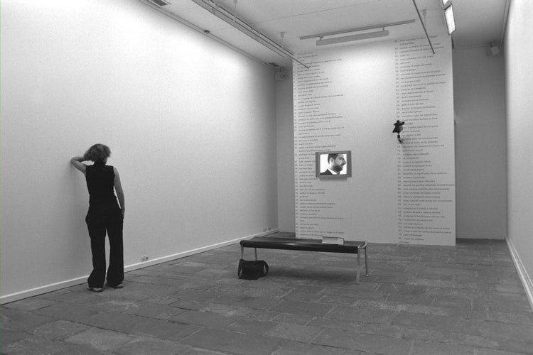 Installation view of the exhibition 1101001000infinito