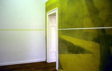 Innercourt, wallpainting