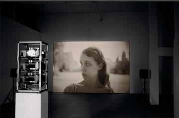 installatiezicht, roomade, Brussel, 2004 © foto Ana Torfs