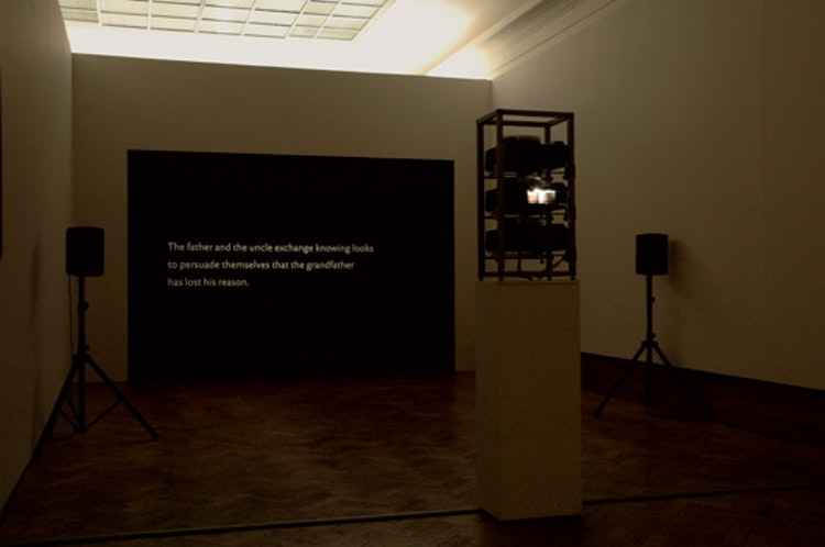 installatiezicht, Bozar, Brussel, 2009 © foto Ana Torfs