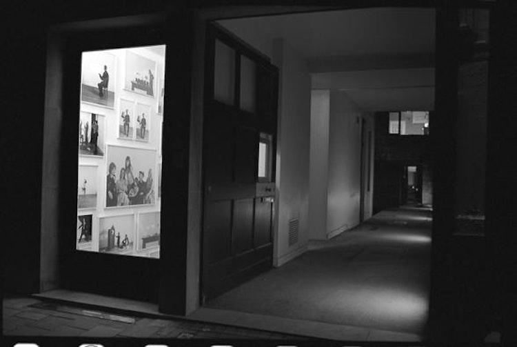 installatiezicht, Het Kabinet, Gent, 2003 © foto Jurgen Persijn
