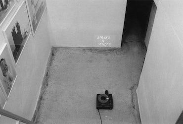 installatiezicht, Het Kabinet, Gent, 2003 © foto Ana Torfs