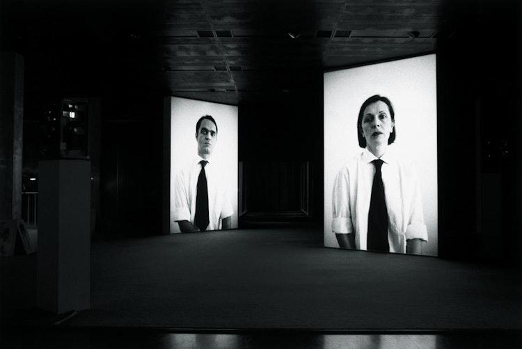 Installatiezicht, Koninklijke Bibliotheek, ForwArt, Brussel, 2002, © foto Ana Torfs
