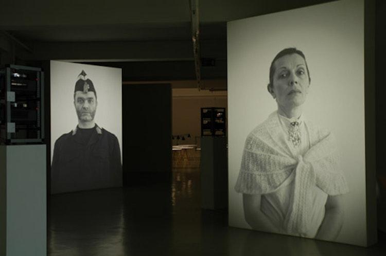 installatiezicht, Gesellschaft für aktuelle Kunst, Bremen,  2006 © foto Ana Torfs