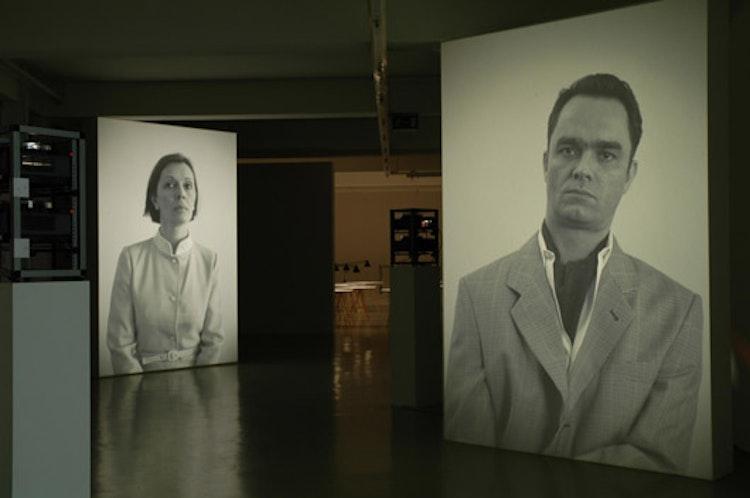 Installatiezicht, Gesellschaft für Aktuelle Kunst, Bremen, 2006, © Foto Ana Torfs
