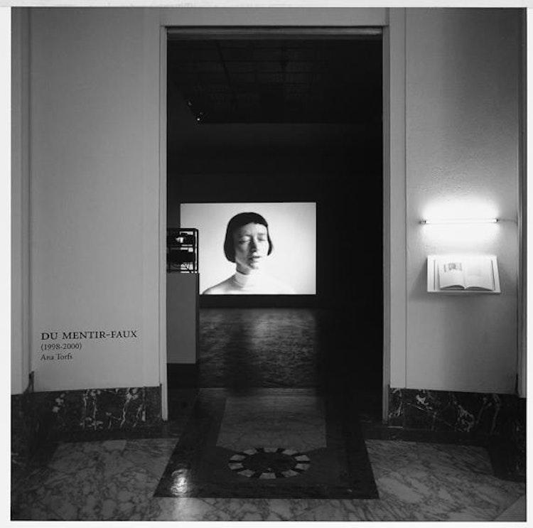 Installatiezicht, Paleis voor Schone Kunsten, Brussel, 2000, © foto Philippe de Gobert