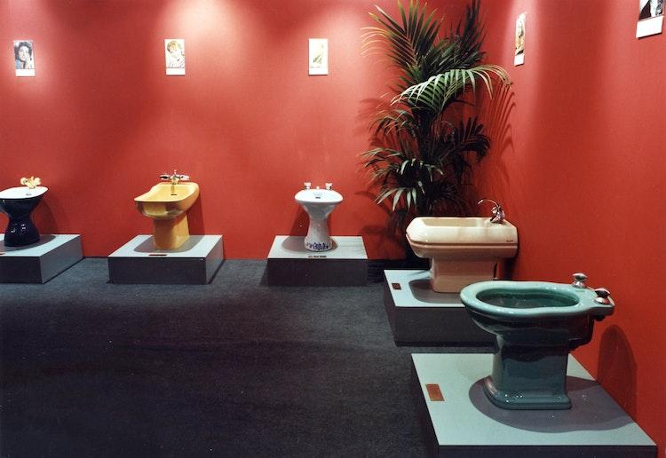 Installatie: 'Bidetmuseum'
