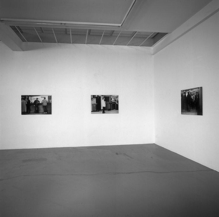 Installation view Galerie Micheline Szwajcer