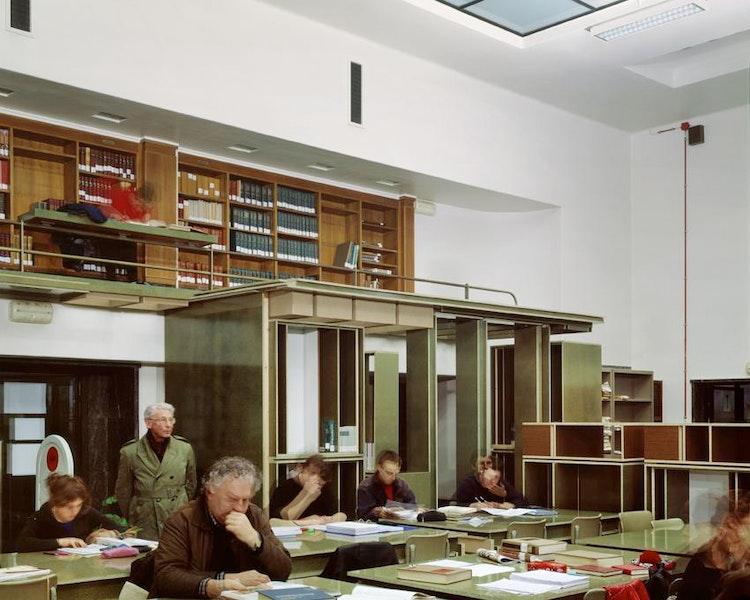 Denkmal 9, Henry van de Velde University Library, Rozier 9, Ghent, 2004, Fig. I
