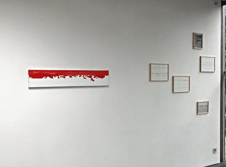 Installatiezicht Galerie C. De Vos, Aalst 2005