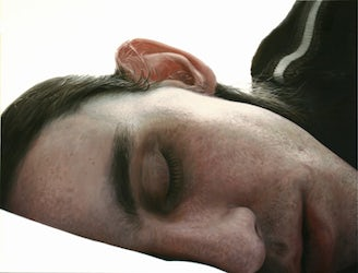 Untitled (sleeping man)