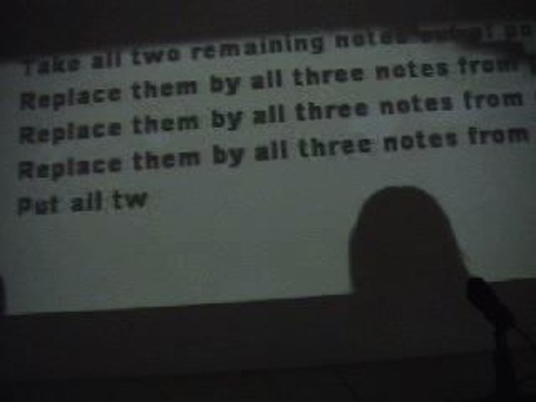 Performing Beckett's rules