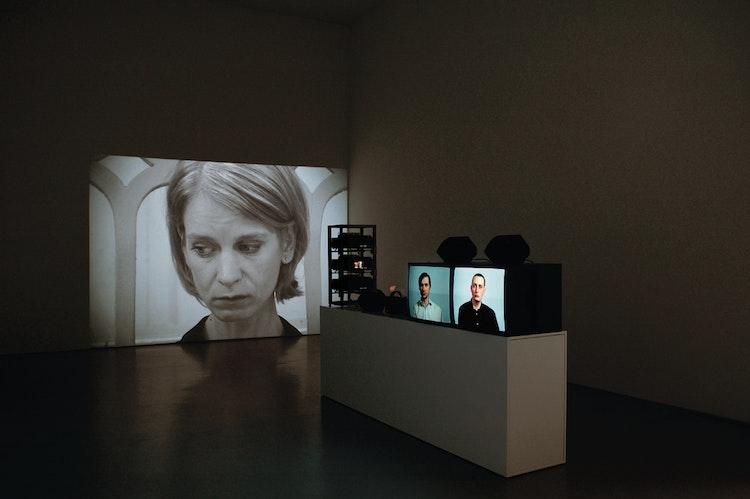 Installatiezicht, daadgalerie, Berlijn, © foto Ana Torfs