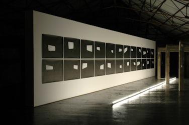 installatiezicht, argos centre for art and media, Brussel, 2007 © foto Ana Torfs
