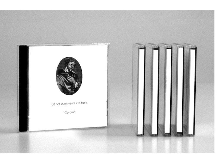 6 cd's met 6 verhalen 'Uit het leven van P. P. Rubens'. Courtesy of Dependance Gallery, Brussels.