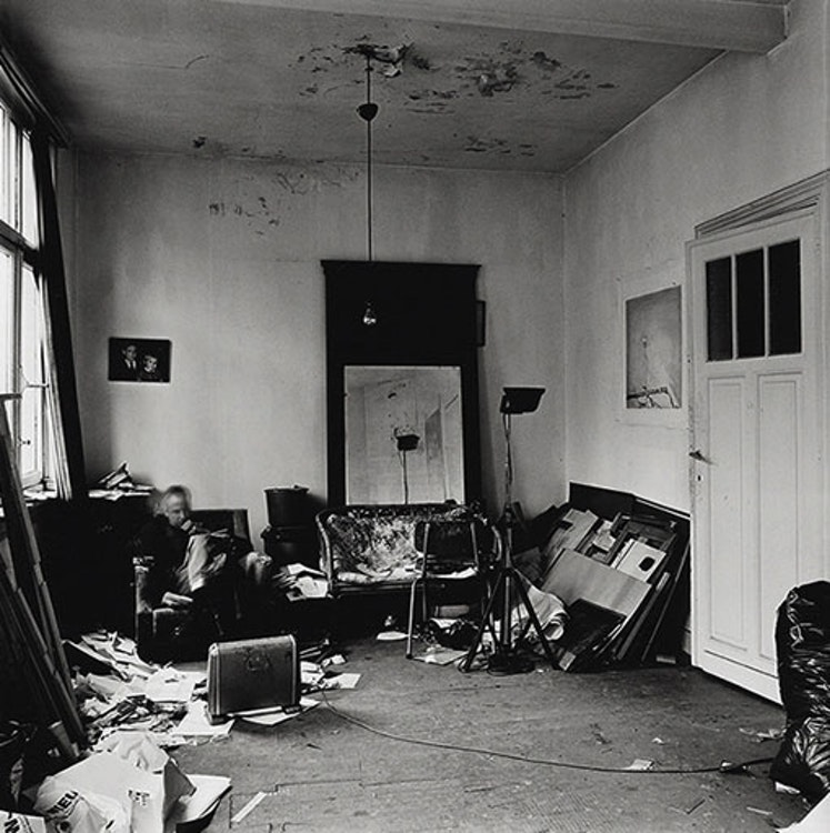 Ateliers d'artistes, Luc Tuymans