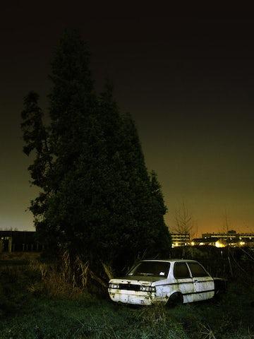 Backyard BMW