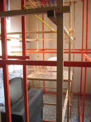 Rasterstructuren in het atelier