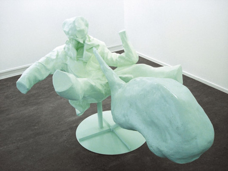 Untitled (Green figure 4)