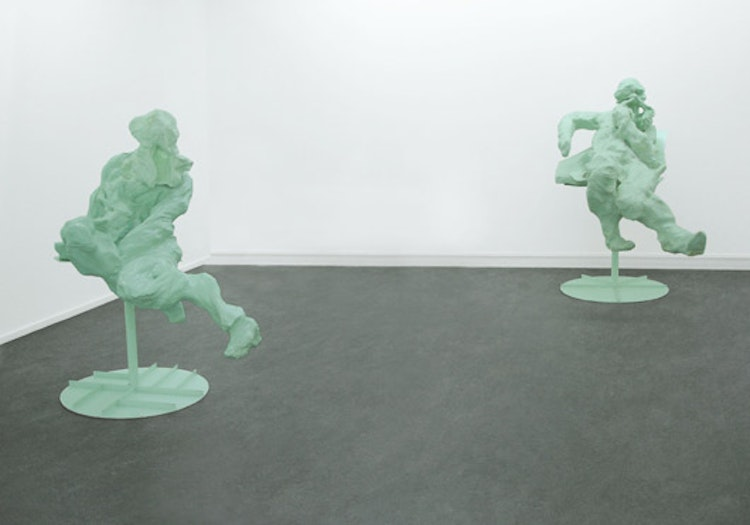 Untitled (Green Figure 2 and 3)