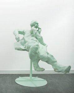 Untitled (Green figure 2)
