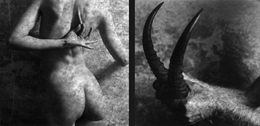 Rebus, 1994,   2x  50x50 cm, zilverprints selenium