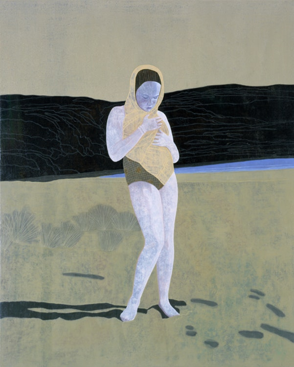 Sea Breezes, 2001, olie op doek, 125 x 100 cm