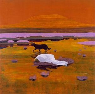 Stalking Hiëronymus, 2002, olie op doek, 200 x 200 cm