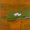 I'm only sleeping, 2002, olie op doek, 190 x 190 cm