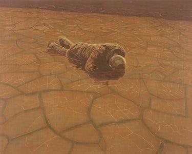 The Fine Art of Surfacing, 2003, olie op doek, 100 x 125 cm