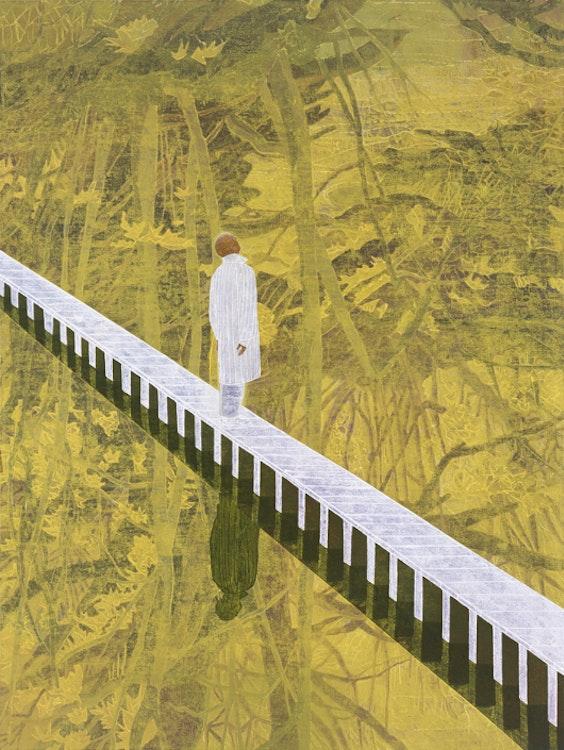 Hanging Garden, 2003, olie op doek, 190 x 142 cm