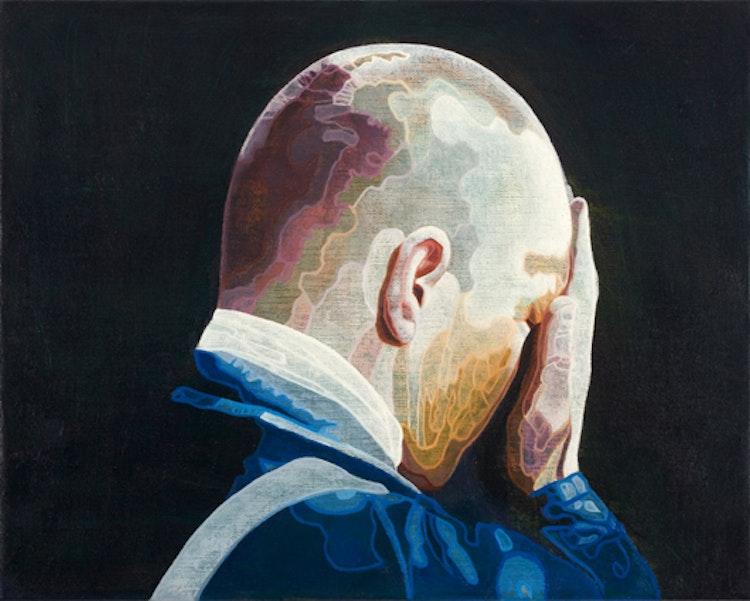 Stalker, 2004, olie op doek, 40 x 50 cm