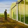 Lampetten 4 Revisited, 2005, olie op doek, 190 x 190 cm