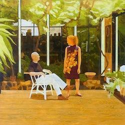 Conversation Piece, 2005, olie op doek, 200 x 160 cm