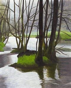 Riverrun, 2006, olie op doek, 200 x 160 cm