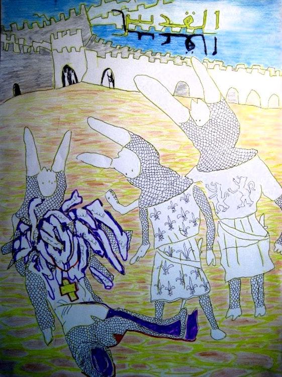 De dood van een kruisvaarder