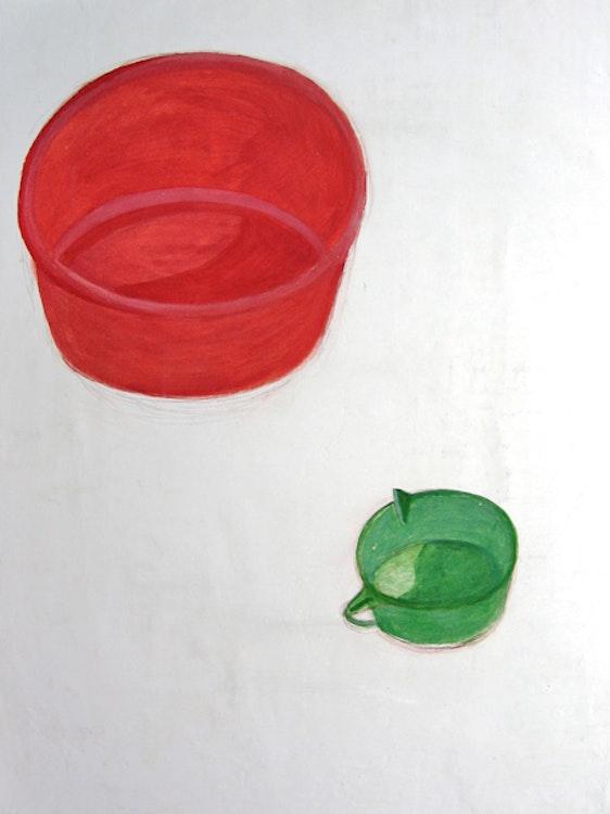 Rode plastic teil