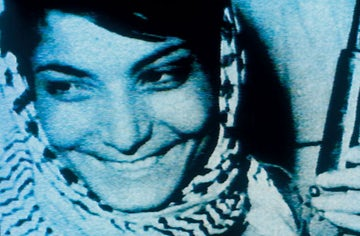Leila Khaled commandeers TWA Boeing 707 into 7-min detour over occupied homeland, August 1969.