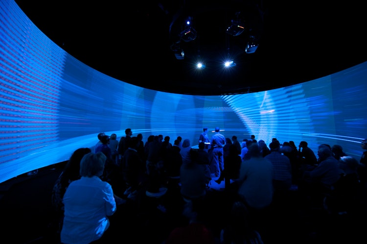 Hybrid Space and the Panoramic Screen, 2008 © Workspace Unlimited