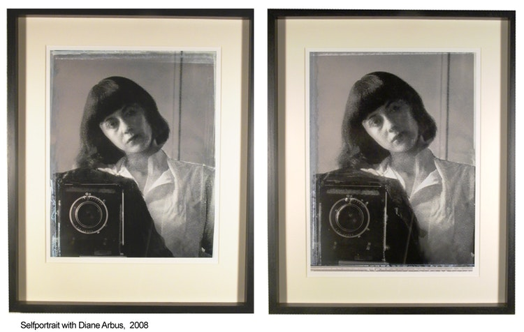 Selfportrait with Diane Arbus