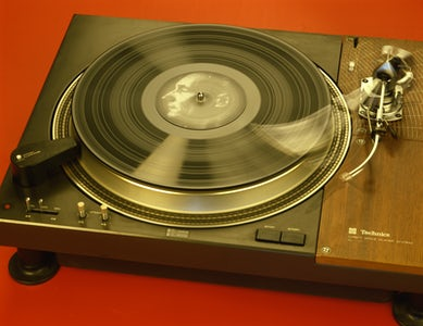Time as activity I Record player