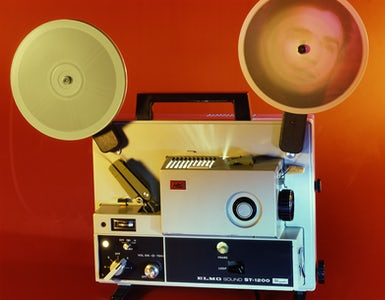 Time as activity II Filmprojector