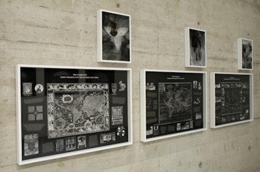 installatiezicht, Generali Foundation, Wenen, 2010 © foto Ana Torfs