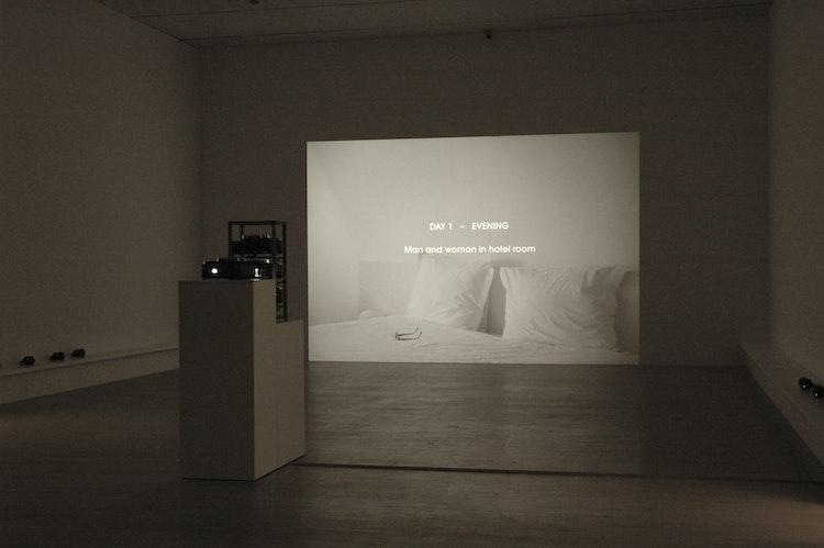 installatiezicht, K21 Düsseldorf, 2010 © foto Ana Torfs