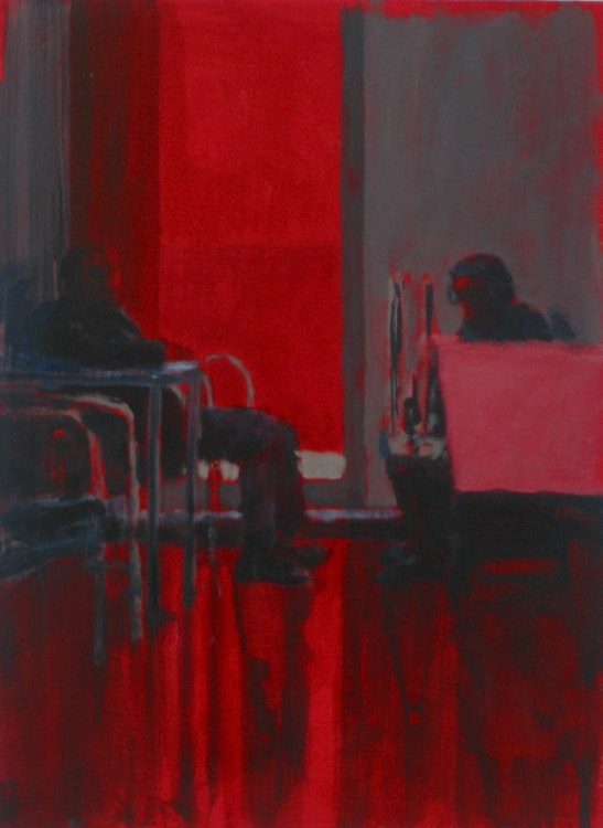 Red series, untitled