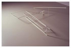 Assembly sculpture of closet parts