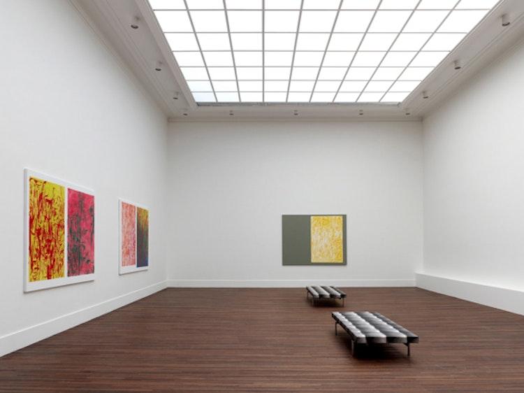 Installation view 'Good Dimensions', Cultuurcentrum, Mechelen (BE)