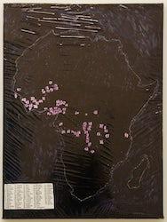 +/- Africa etnic map