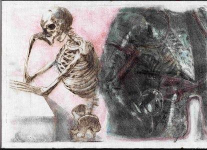 De dood in het harnas
