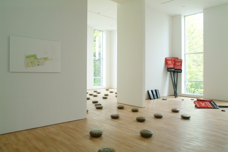 Exhibition view 'The Greenery Line', SMAK Museum of Contemporary Art, Ghent /Belgium